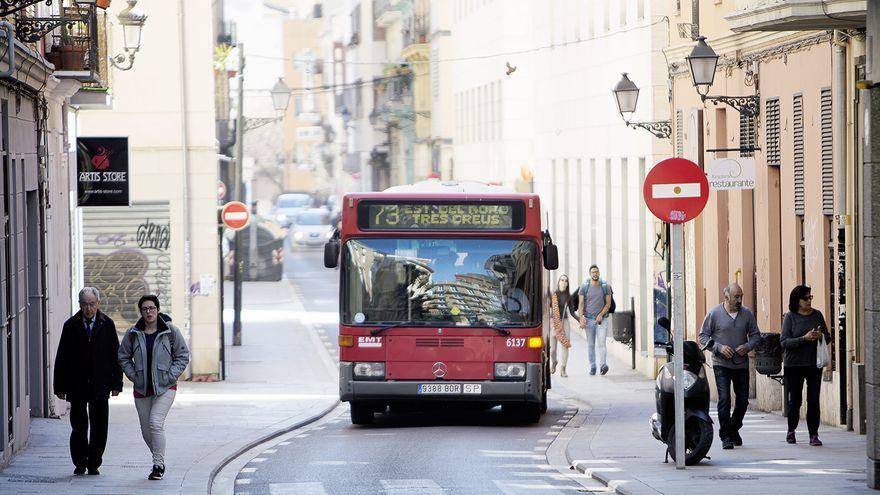 Un bus de la EMT
