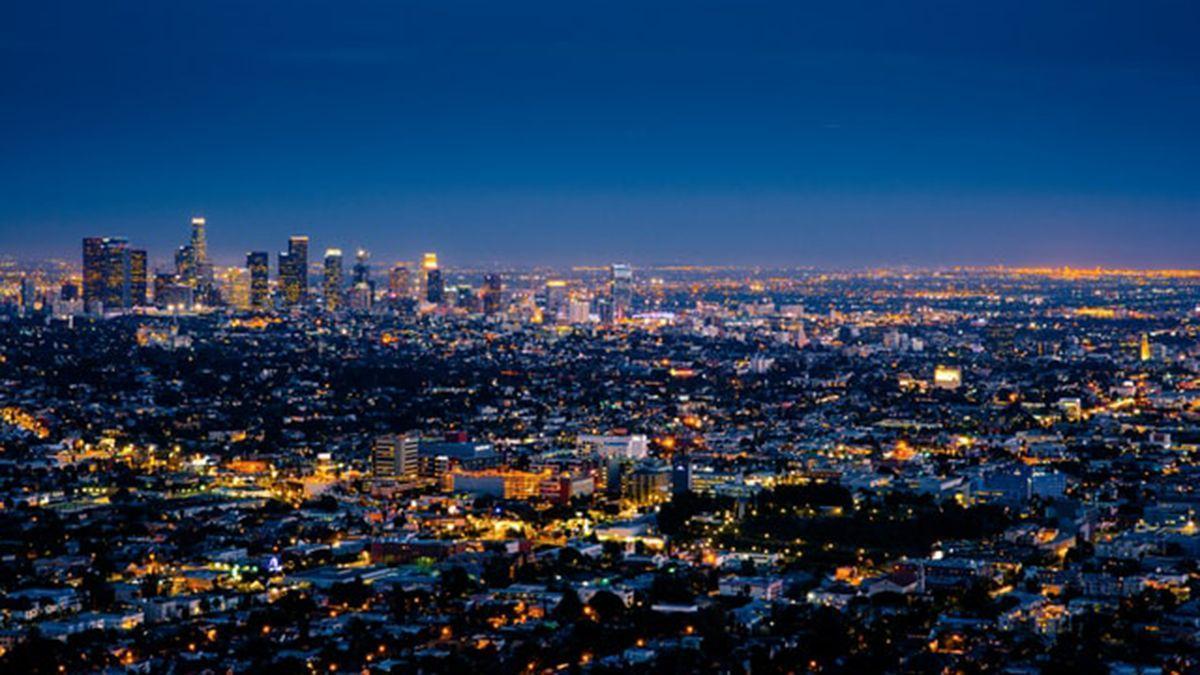 Una gran ciudad.