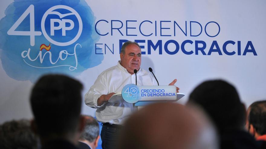 Vicente Tirado en el Congreso local del PP en Toledo