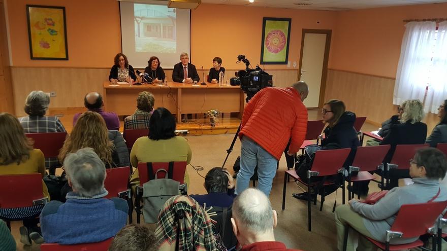 Presentación del proyecto de reforma del Centro de Atención a Personas con Discapacidad Intelectual de Zaragoza