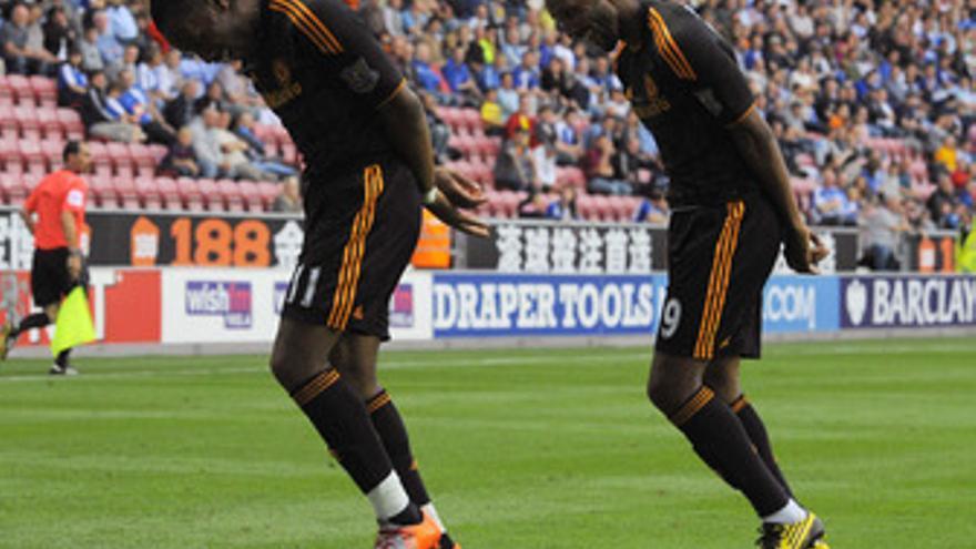 El Chelsea celebra la goleada