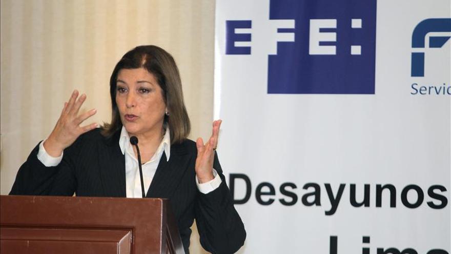 La canciller Rivas destacó la imagen atractiva de Perú para los inversionistas