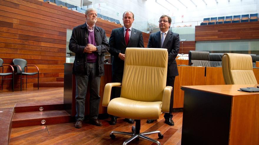 Ibarra, Vara y Monago defienden la autonomía de Extremadura en el 30 aniversario del Parlamento regional