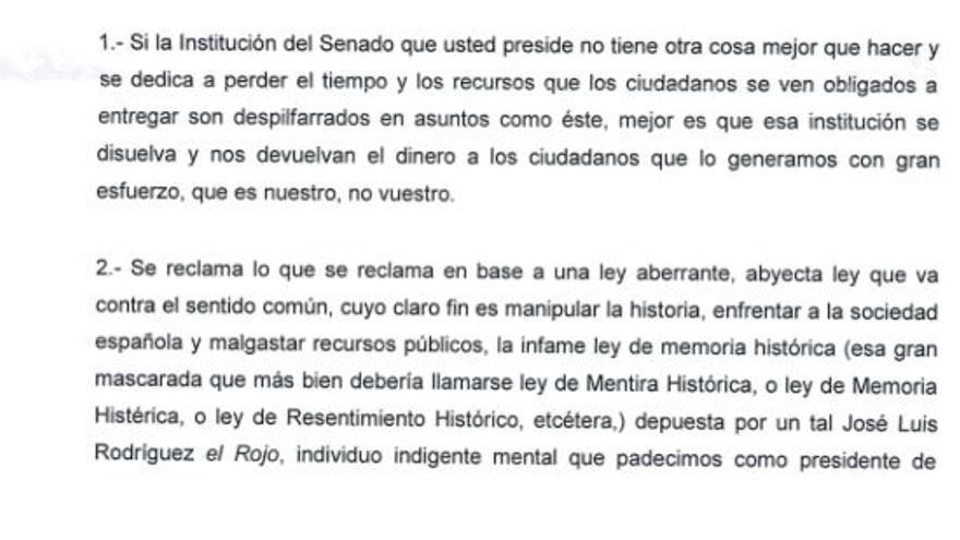 Un alcalde del PP insulta a Zapatero y García-Escudero por la Ley de Memoria Histórica