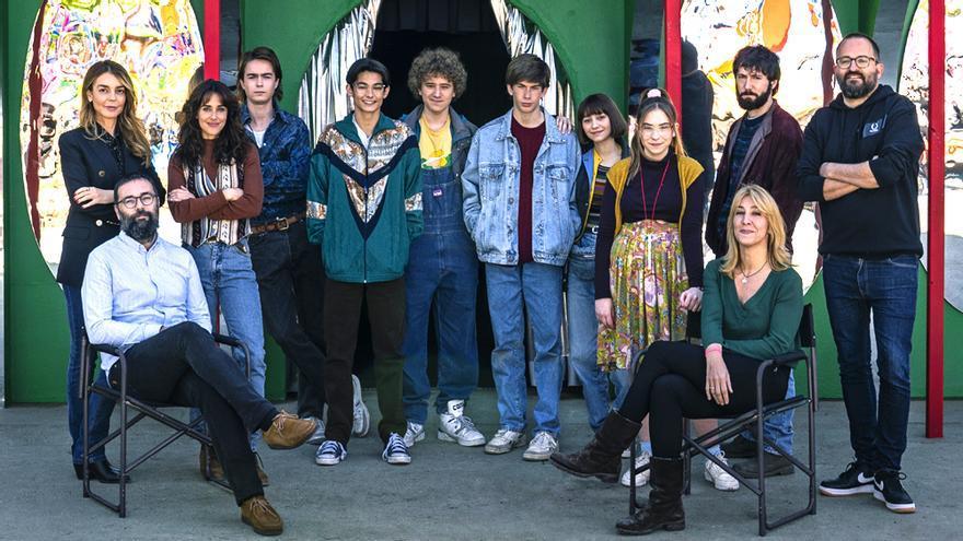 El equipo de 'Paraíso'