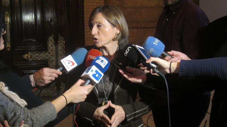 """Forcadell: """"La sentencia del TC no anula la voluntad del pueblo de Cataluña"""""""