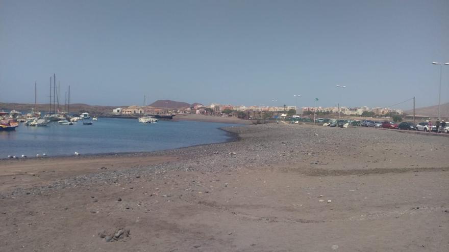 Playa de Las Galletas, Tenerife.