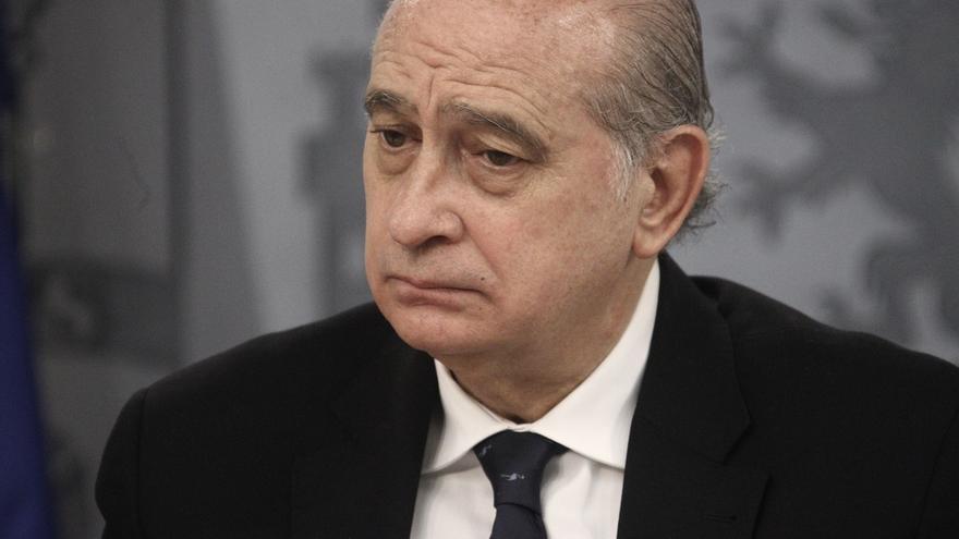 El ministro de Interior en funciones, Jorge Fernández Díaz.