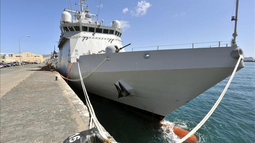 El patrullero Meteoro regresa a Las Palmas tras 4 meses de misión en el Índico