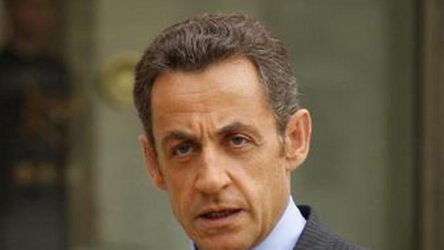 Recurso del presidente francés, Nicolas Sarkozy