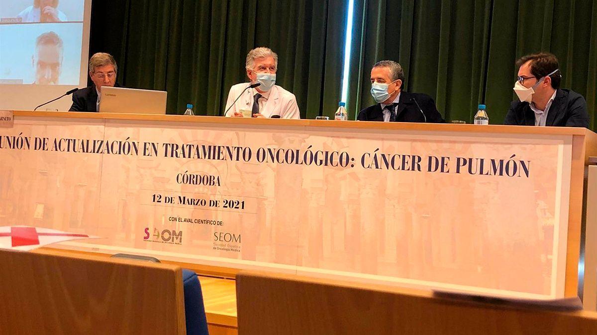 Presentación de la jornada sobre cáncer de pulmón.