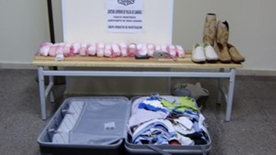 Detenido en Gando con más de seis kilos de cocaína