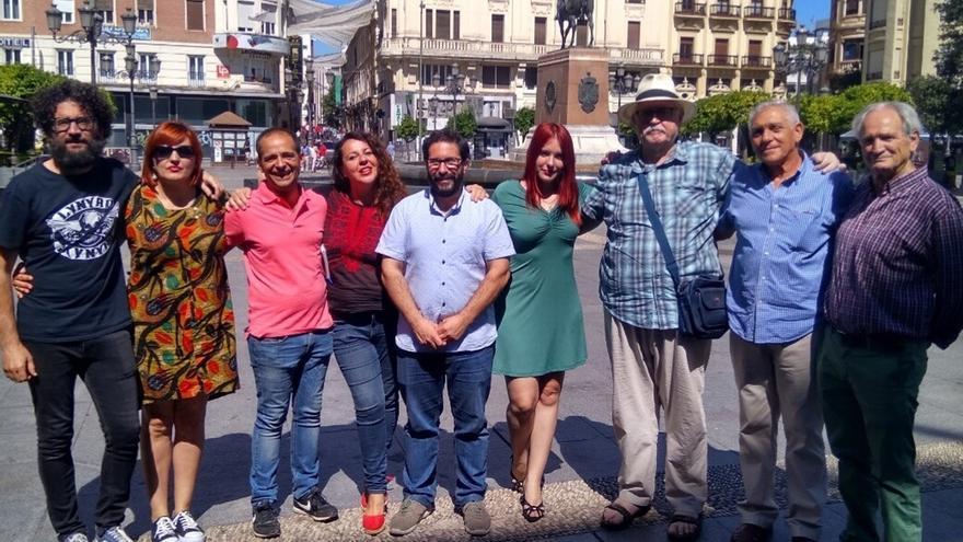 Monereo, Moscoso e Hidalgo suman fuerzas en la candidatura de Podemos en apoyo a Teresa Rodríguez