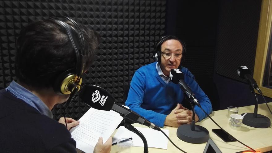 Fernando Olmeda en Carne Cruda