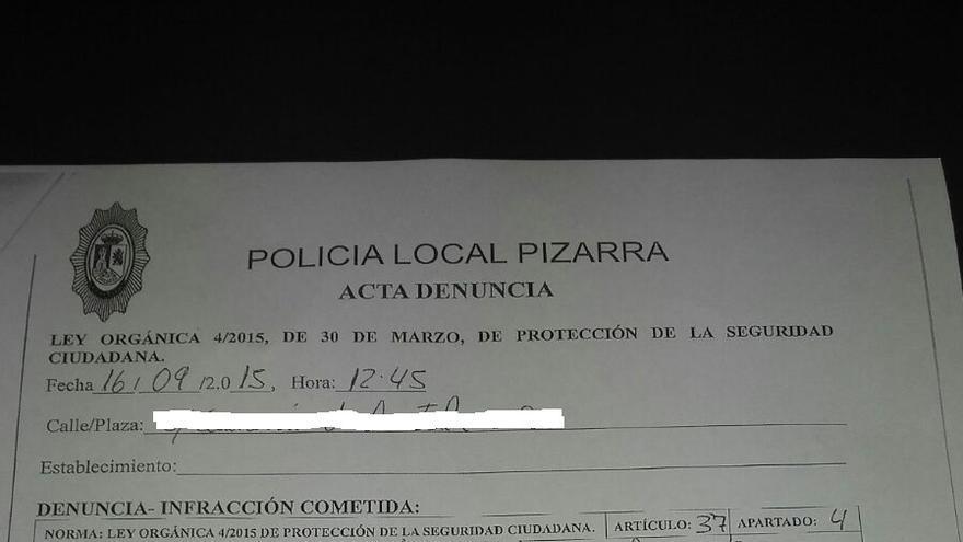 La denuncia contra Juan Carlos Puyoles
