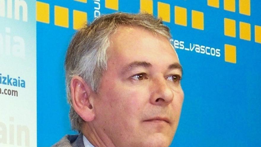 El presidente del PP de Bizkaia, Antón Damborenea.