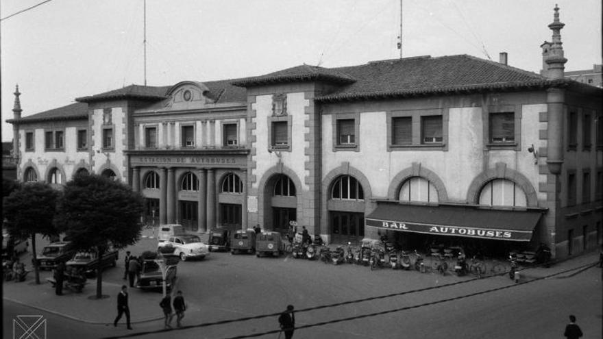 Antigua estación de autobuses, actual Artium