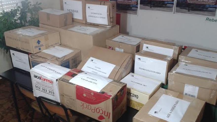 Recogida de medicamentos para Palestina en Valdepeñas (Ciudad Real)