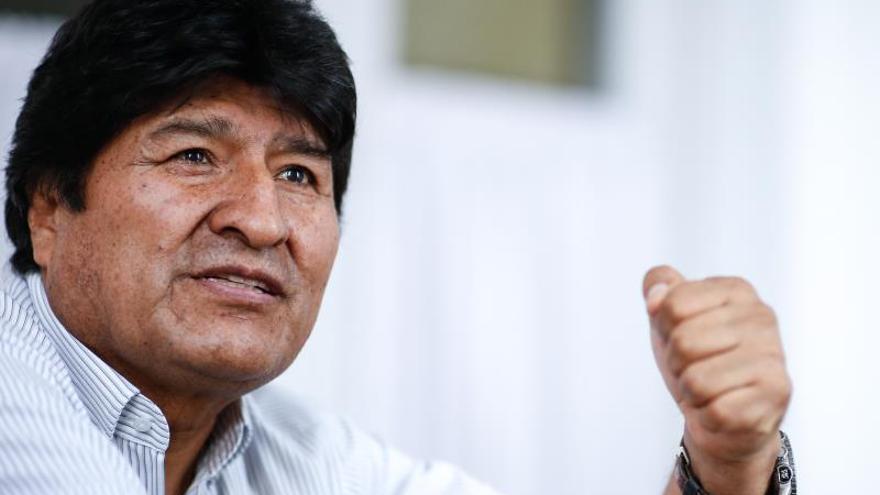 Evo Morales define en Buenos Aires al candidato presidencial de su partido