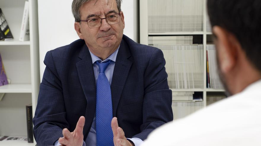 El director general de Memoria Histórica, Fernando Martínez, en su entrevista en eldiario.es
