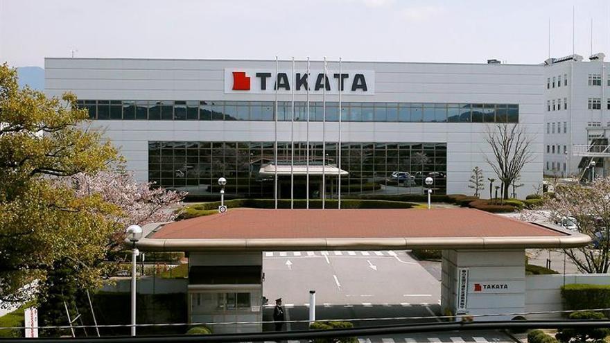 Takata se dispara en bolsa por aparente acuerdo con la justica de EE.UU.