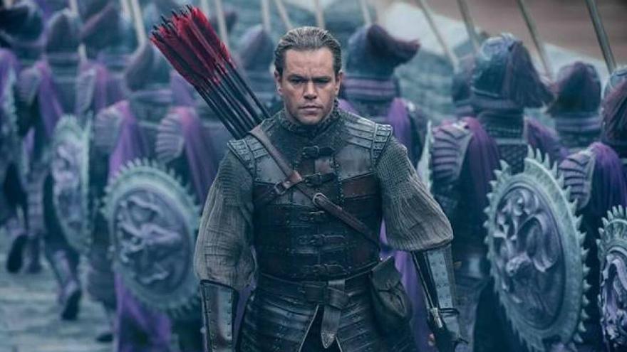 Matt Damon ha sido criticado por encarnar a un personaje en principio asiático en La Gran Muralla.