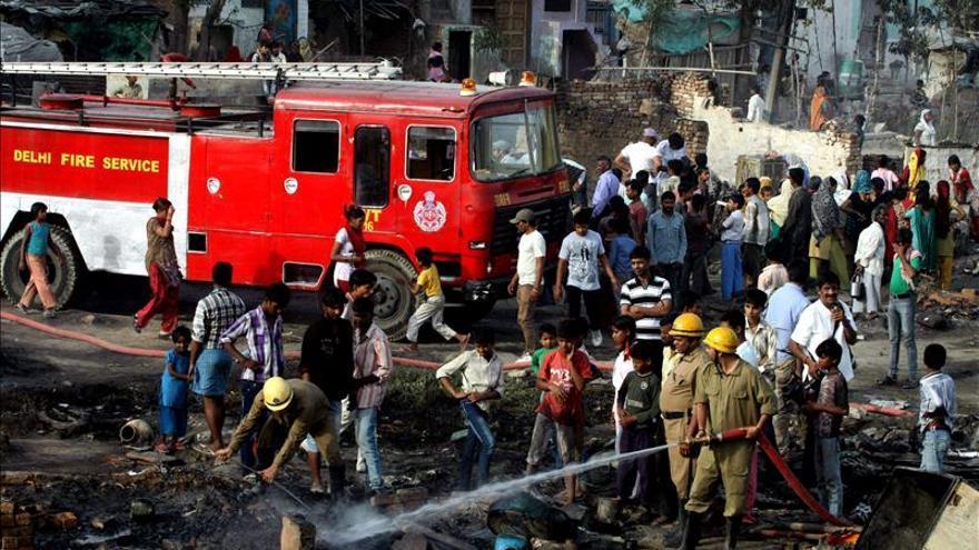 Al menos 35 muertos y 75 heridos en una explosión de gas en la India