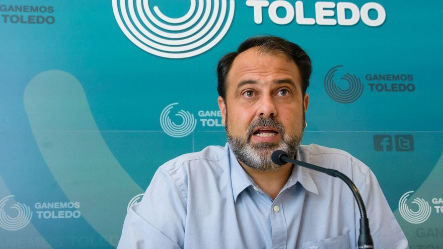 Javier Mateo, de Ganemos Toledo