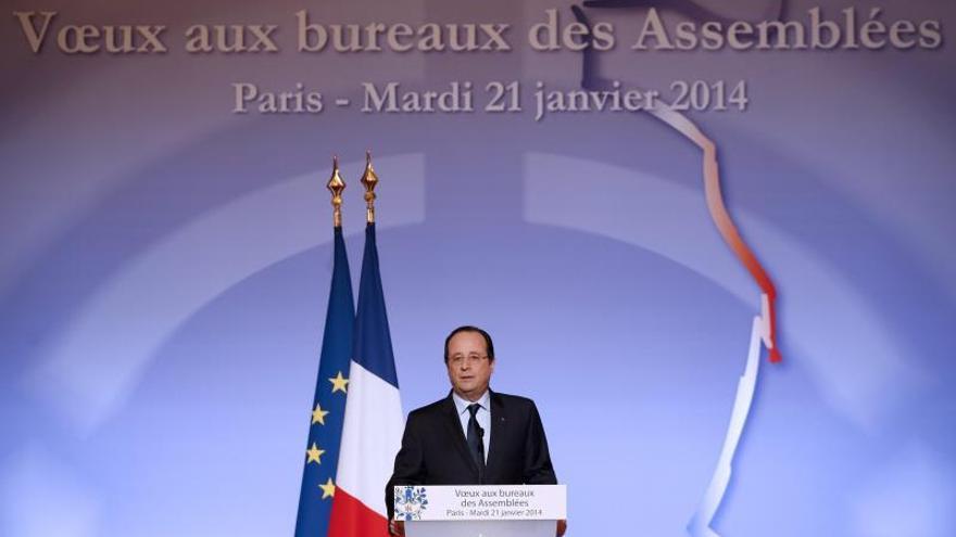 Hollande, presidente soltero, ante el reto del gran recorte del gasto público