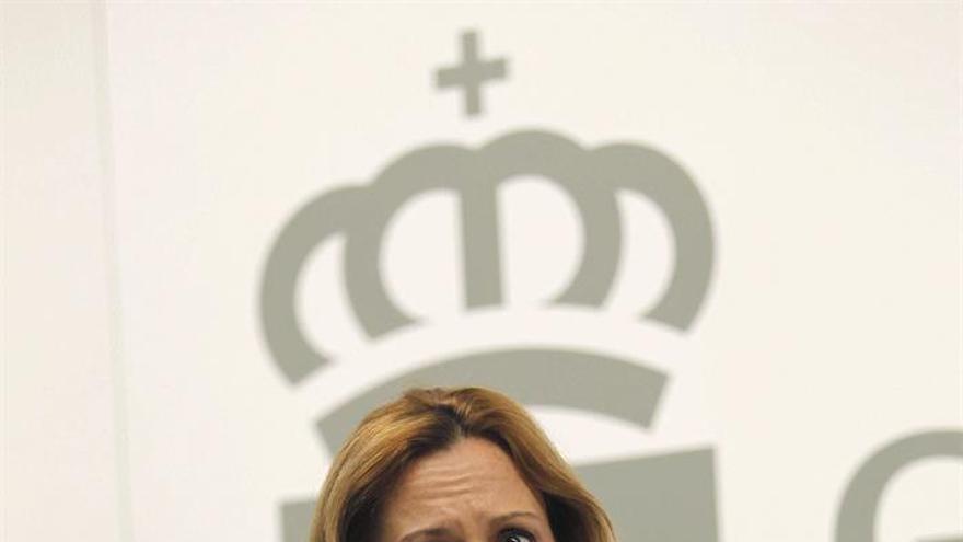 La portavoz del Gobierno de Canarias y consejera de Hacienda, Rosa Dávila.