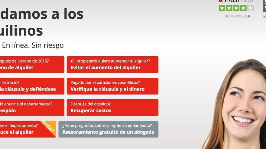 Traducción al castellano de la web de Wenigermeite