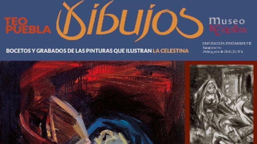 Imagen de la exposición de Teo Puebla en el Festival Celestina