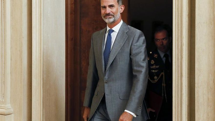 El Rey abre un año judicial marcado por el desafío soberanista