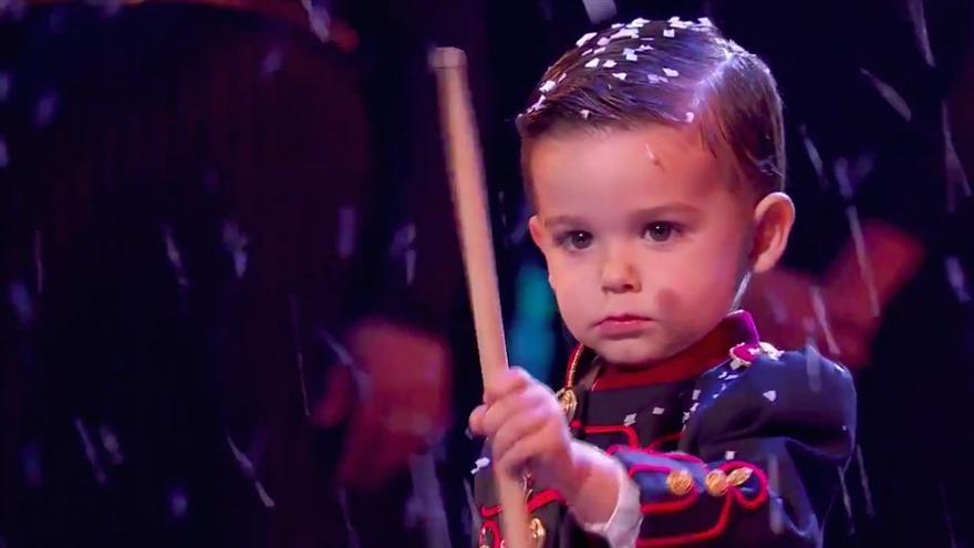 Redoble de tambores: 'Got Talent 5' alza al pequeño gran Hugo como ganador indiscutible