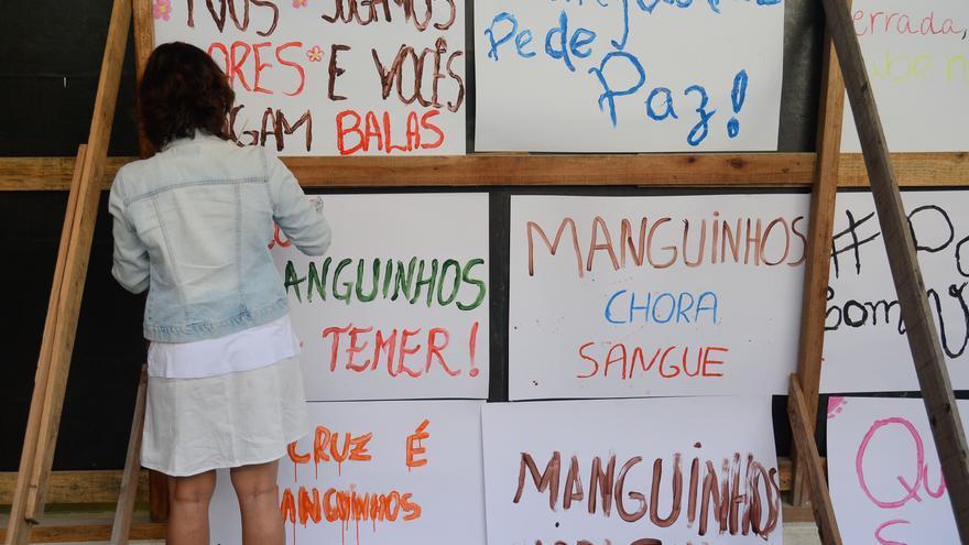 La policía militar controla Manguinhos en los últimos años