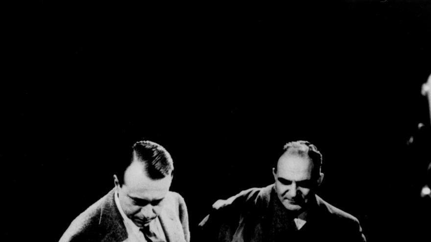 Leonardo Sciascia, Attilio Bertolucci, Alfonso Gatto. / Effigie / Gtresonline