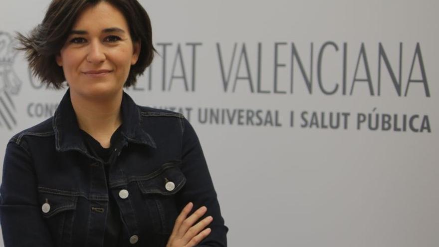 Carmen Montón, consellera de Sanidad Universal y Salud Pública