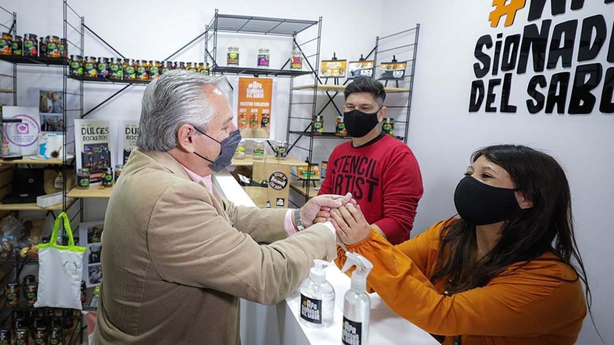"""""""Tengo la íntima seguridad que pusimos todo nuestro esfuerzo para que el cuidado de la gente"""", dijo Fernández."""