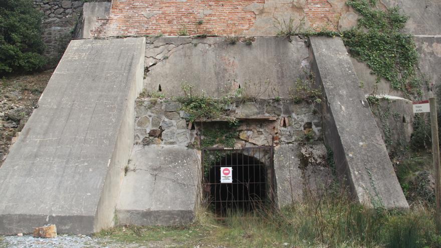 La bocamina que da acceso a la cámara acorazada permanece cerrada