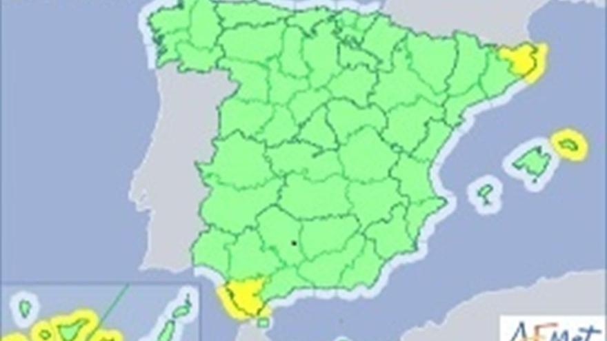 Gran Canaria en aviso amarillo por calor y también por oleaje junto a la provincia occidental