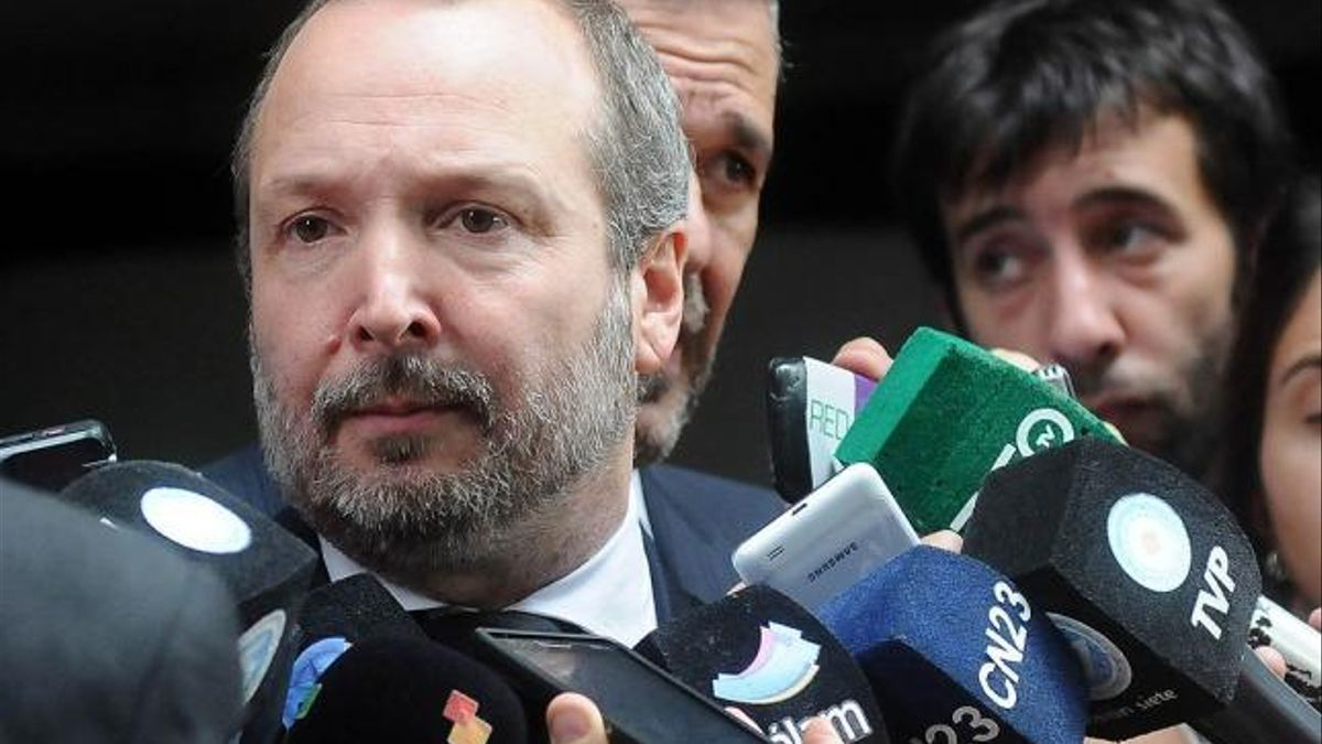 Martín Sabbatella es presidente de la Autoridad de Cuenca Matanza Riachuelo (Acumar).