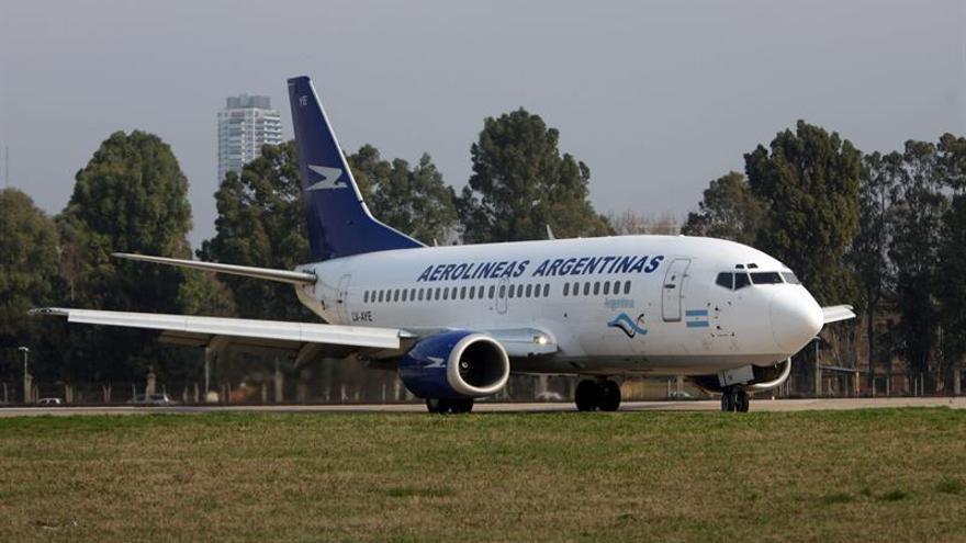 """Aerolíneas Argentinas cancela un vuelo a Caracas por razones de """"seguridad"""""""