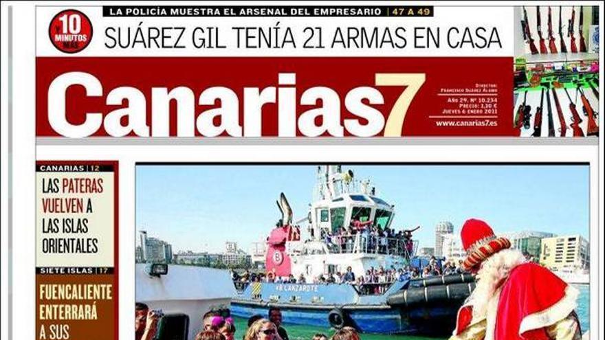 De las portadas del día (06/01/2011) #1