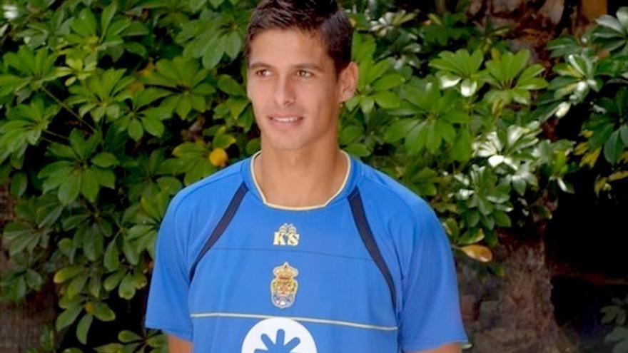 Sergio Suárez en el hotel Don Gregory.