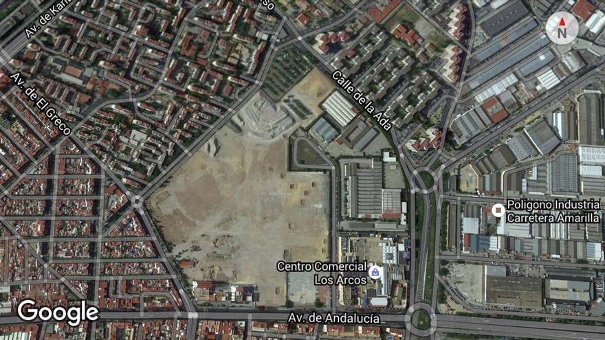Parcela industrial de Abengoa y Cruzcampo