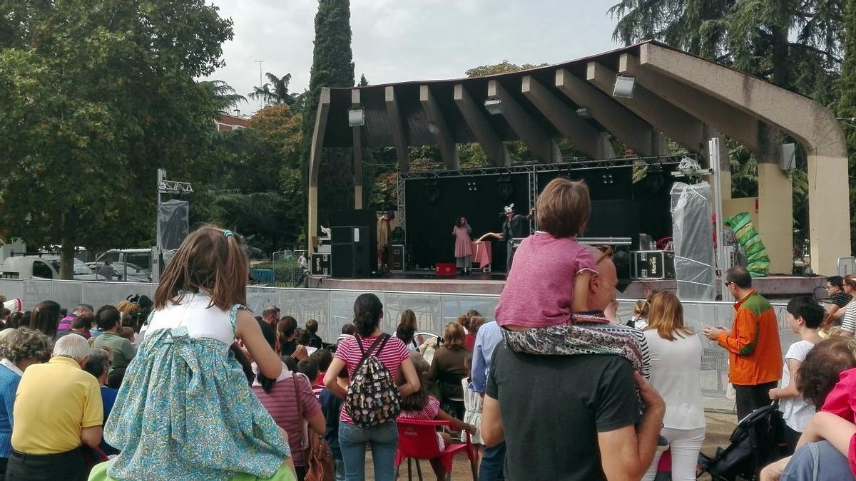 Escenario del parque Berlín