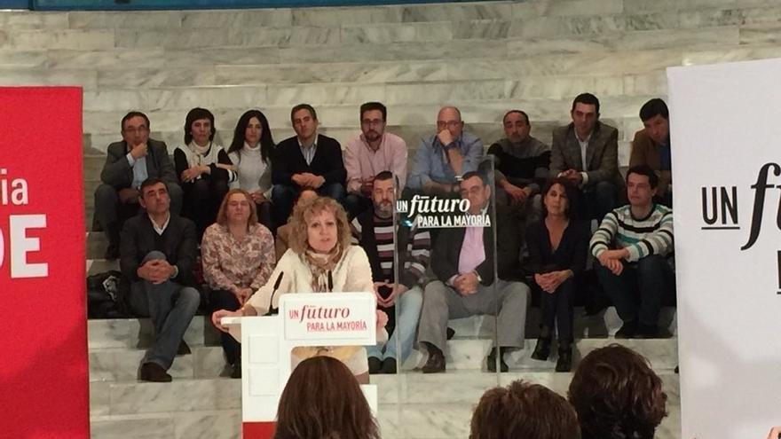 """El PSOE pide el voto para """"recomponer"""" el Estado de Bienestar que ha """"demolido"""" el PP"""