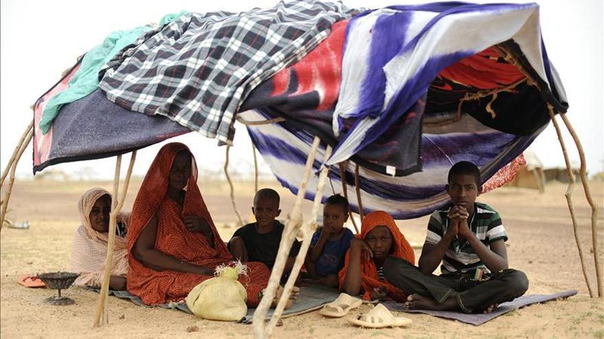 Hallados los cuerpos sin vida de 87 emigrantes que murieron de sed en Níger. Imagen: Efe.
