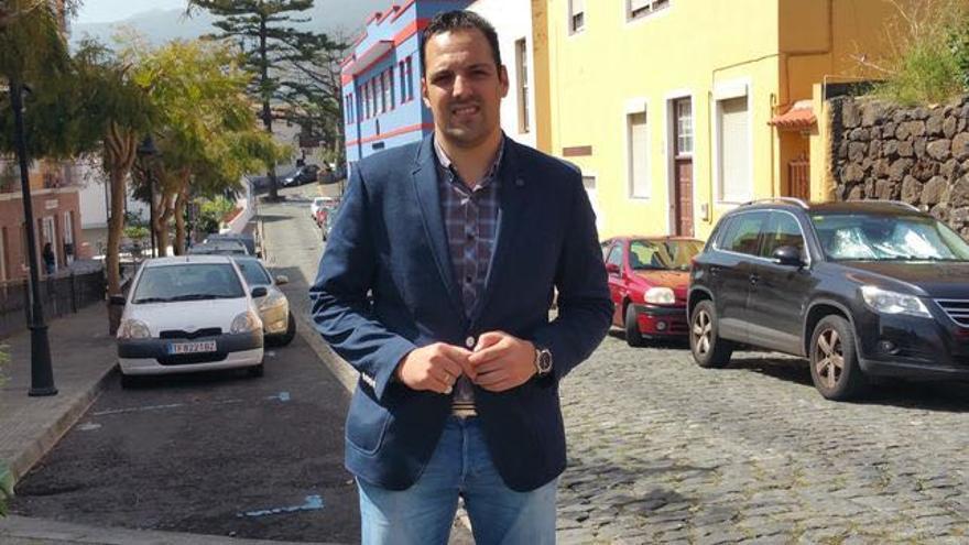 Jonathan Felipe es secretario general de los Jóvenes Nacionalistas de CC.