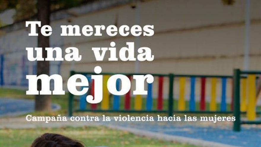 Cartel de una campaña contra la violencia machista de la Consejería de igualdad con el anterior Gobierno del PSOE, de 2013.